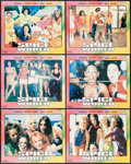 """Movie Posters:Rock and Roll, Spice World (Columbia, 1997). Spanish Language Lobby Card Set of 6(11"""" X 13.25""""). Rock and Roll.. ... (Total: 6 Items)"""