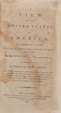 Books:Americana & American History, Tench Coxe. A View of the United States of America. Hall,1794. First edition. Lawrence Washington's copy....