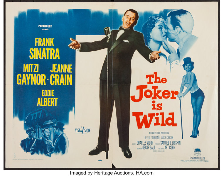 Image result for the joker went wild movie poster