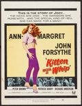 """Movie Posters:Bad Girl, Kitten with a Whip (Universal, 1964). Window Card (14"""" X 18.25"""").Bad Girl.. ..."""