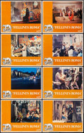"Movie Posters:Drama, Fellini's Roma (United Artists, 1972). Lobby Card Set of 8 (11"" X14""). Drama.. ... (Total: 8 Items)"