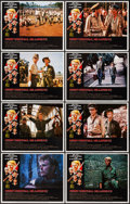 "Movie Posters:War, Merry Christmas, Mr. Lawrence (Universal, 1983). Lobby Card Set of8 (11"" X 14""). War.. ... (Total: 8 Items)"