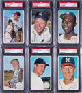 Baseball Cards:Lots, 1964 Topps Giants PSA Graded Collection (16) With Mantle. ...