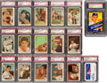 Baseball Cards:Sets, 1959 Fleer Ted Williams Complete Set (80) Plus Wax Pack & JimmyFund Card! - #2 on the PSA Set Registry! ...