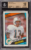 Football Cards:Singles (1970-Now), 1984 Topps Dan Marino #123 Beckett Pristine 10. ...