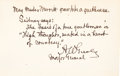 Autographs:Celebrities, Adolphus Greely Autograph Quotation Signed...