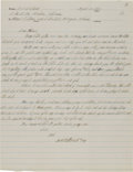 Autographs:Celebrities, Robert Stroud Autograph Letter Signed....
