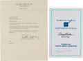 Autographs:Celebrities, [Civil Rights] Two Items... (Total: 2 Items)