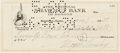 Autographs:Celebrities, Meyer Lansky Check Signed....