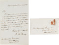 Autographs:Statesmen, Roger B. Taney Autograph Letter Signed....