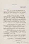 Autographs:Authors, Pearl S. Buck Typed Letter Signed....