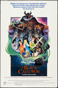 "Movie Posters:Animation, The Black Cauldron & Others Lot (Buena Vista, 1985). One Sheets (9) (27"" X 41"", 27"" X 40""), & Insert (14"" X 36"") DS Advance ... (Total: 10 Items)"