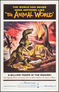 """Movie Posters:Documentary, The Animal World (Warner Brothers, 1956). One Sheet (27"""" X 41""""). Documentary.. ..."""