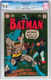 Batman #210 Twin Cities pedigree (DC, 1969) CGC NM+ 9.6 White pages