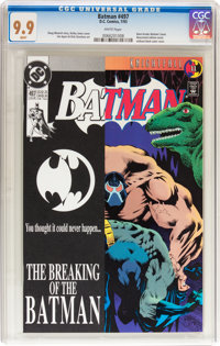 Batman #497 (DC, 1993) CGC MT 9.9 White pages