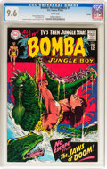 Silver Age (1956-1969):Adventure, Bomba the Jungle Boy #1 Curator pedigree (DC, 1967) CGC NM+ 9.6 White pages....
