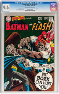 The Brave and the Bold #81 Batman and The Flash (DC, 1969) CGC NM+ 9.6 Off-white to white pages