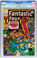 Bronze Age (1970-1979):Superhero, Fantastic Four #100 (Marvel, 1970) CGC NM/MT 9.8 Off-white to whitepages....