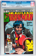 Bronze Age (1970-1979):Superhero, Iron Man #128 (Marvel, 1979) CGC NM/MT 9.8 White pages....