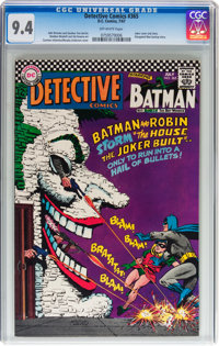 Detective Comics #365 (DC, 1967) CGC NM 9.4 Off-white pages