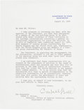 Autographs:Statesmen, Cordell Hull Typed Letter Signed....