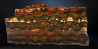 SPECTACULAR TIGER'S EYE TABLETOP SLAB Mount Brockman Station, Pilbara, Western Australia