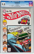 Bronze Age (1970-1979):Miscellaneous, Hot Wheels #1 Double Cover (DC, 1970) CGC NM/MT 9.8 White pages....