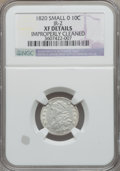 Bust Dimes: , 1820 10C Small 0 -- Improperly Cleaned -- NGC Details. XF. JR-2.NGC Census: (0/0). PCGS Population (9/19). Numismedia Ws...