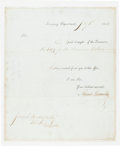 Autographs:Statesmen, Alexander Hamilton Document Signed....