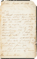 Autographs:Celebrities, Florence Nightingale Autograph Letter Signed....
