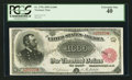 Large Size:Treasury Notes, Fr. 379b $1000 1890 Treasury Note PCGS Extremely Fine 40.. ...