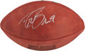 """Football Collectibles:Balls, Drew Brees Signed Leather NFL """"Wilson"""" Commemorative Football. ..."""