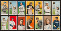 Baseball Cards:Lots, 1909-11 T206 Piedmont Tobacco Card Collection (14). ...