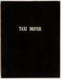 Books:Literature 1900-up, [Production Script]. Paul Schrader. Taxi Driver. Copy ofshooting script. Ocean Park Productions/Columbia Pictures, ...