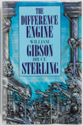 Books:Science Fiction & Fantasy, William Gibson & Bruce Sterling. The Difference Engine. London: Gollancz, 1990. First British edition, first printin...