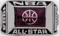 Basketball Collectibles:Others, 1994 Dominique Wilkins All Star Game Ring. ...