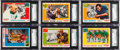 Football Cards:Sets, 1955 Topps All American Football Set (100). ...