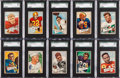 Football Cards:Sets, 1952 Bowman Small Football Solid Middle Grade Complete Set (144)....