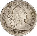 Early Dimes, 1802 10C -- Repaired, Whizzed -- NGC Details. Good. JR-1, R.8....