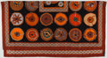 "Luxury Accessories:Accessories, Hermes Black, Orange & Red ""Belles du Mexique,"" by VirginieJamin Cashmere Scarf. ..."