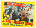 "Movie Posters:Mystery, Mr. Moto in Danger Island (20th Century Fox, 1939). Half Sheet (22""X 28"") Style A. Mystery.. ..."