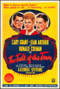 "Movie Posters:Comedy, The Talk of the Town (Columbia, 1942). Australian One Sheet (27"" X 40""). Comedy.. ..."