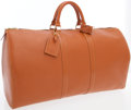 Luxury Accessories:Travel/Trunks, Louis Vuitton Gipango Gold Epi Leather Keepall 55 WeekenderOvernight Bag. ...