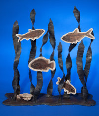 """PREHISTORIC AQUATIC SCULPTURE"" Artist: James Ivy"