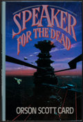 Books:Science Fiction & Fantasy, Orson Scott Card. Speaker for the Dead. TOR, [1986]. Firstedition, first printing. Signed by Card and John Ha...