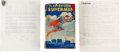"Books:Science Fiction & Fantasy, [Jerry Siegel]. A Wonderful Superman-Related Lot, including: Jerry Siegel. Original Typescript for ""The Road to Lucre"", ... (Total: 2 Items)"