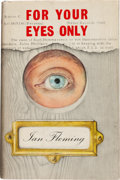 Books:Mystery & Detective Fiction, Ian Fleming. For Your Eyes Only. Five Secret Occasions inthe Life of James Bond. London: Jonathan Cape, [1960]....