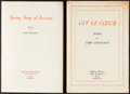 Books:Literature 1900-up, [Black Sun Press]. Lord Lymington. Two Fine Press Limited Editions:Spring Song of Iscariot. [and:] Git ... (Total: 2Items)