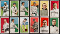 Baseball Cards:Lots, 1909-11 T206 Multi-Brand Tobacco card Collection (12). ...