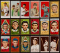 Baseball Cards:Lots, 1908-11 T205, E90-1, E93, E91 Tobacco and Caramel Collection (18)....